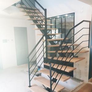 escalier metallique découpe 95